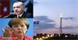 بسبب صليب عملاق يراه الأتراك دائما.. اردوغان يشكو اليونان لـ ميركل